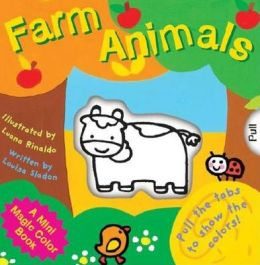 A Mini Magic Color Book: Farm Animals