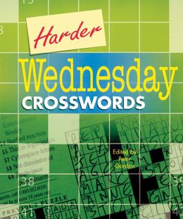 Harder Wednesday Crosswords