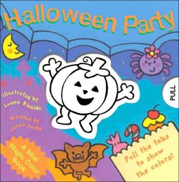 A Mini Magic Color Book: Halloween Party