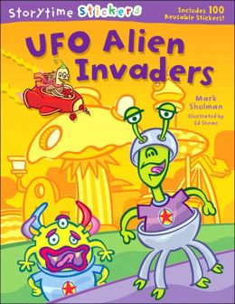 Storytime Stickers: UFO Alien Invaders