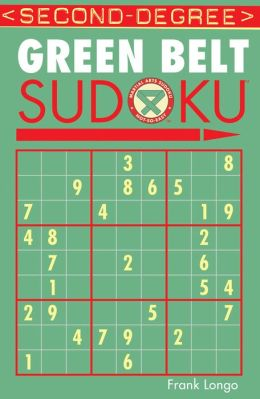 Second-Degree Green Belt Sudoku