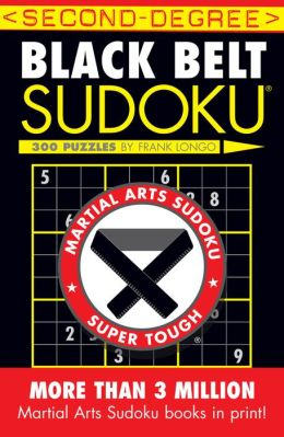 Second-Degree Black Belt Sudoku