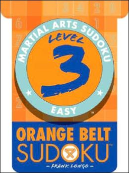 Martial Arts Sudoku Level 3: Orange Belt Sudoku