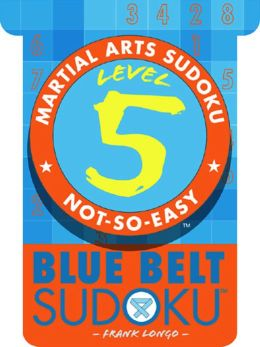 Martial Arts Sudoku Level 5: Blue Belt Sudoku