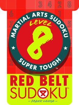 Martial Arts Sudoku Level 8: Red Belt Sudoku
