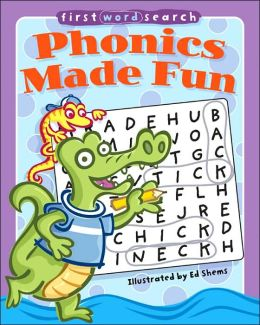 First Word Search: Phonics Made Fun