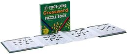 The 21-Foot-Long Crossword Puzzle Book: Fold-Out Fun for More Than One!