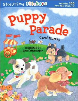 Storytime Stickers: Puppy Parade