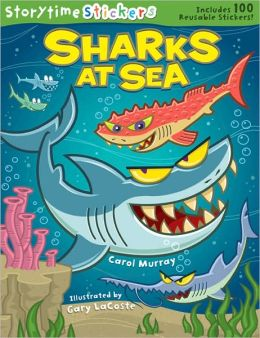 Storytime Stickers: Sharks at Sea