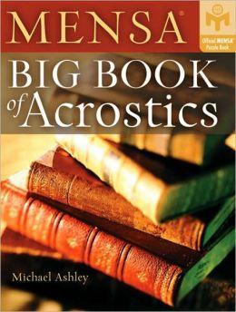 Big Book of Acrostics