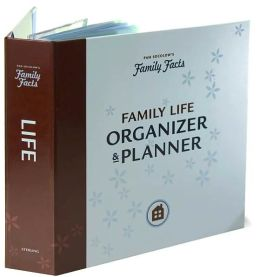 Family Facts Family Life Organizer & Planner (3-year Calendar)