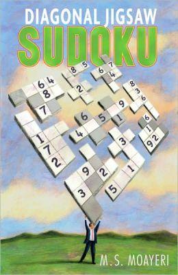 Diagonal Jigsaw Sudoku