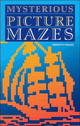 Mysterious Picture Mazes: Conceptis Puzzles
