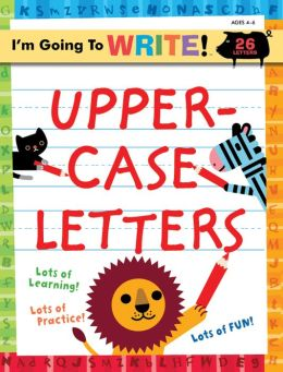 Uppercase Letters (I'm Going to Write Series)