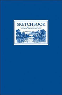 Sketchbook: Blue Medium