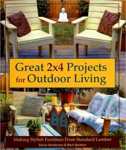 Great 2x4 Projects for Outdoor Living: Making Stylish Furniture from Standard Lumber