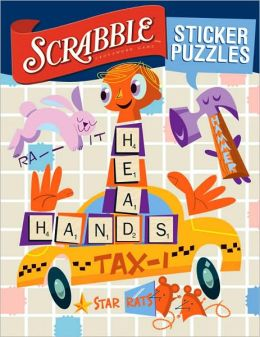 SCRABBLE: Sticker Word Puzzles