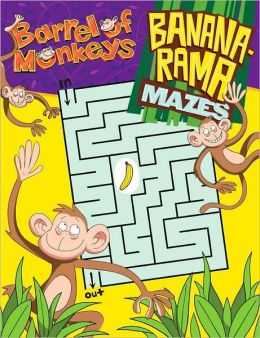 Barrel of Monkeys: Banana-Rama Mazes