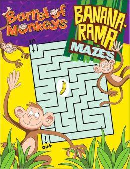 Barrel of Monkeys: Banana-Rama Mazes
