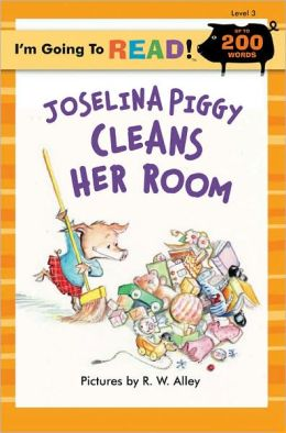 Joselina Piggy Cleans Her Room (I'm Going to Read Series: Level 3)