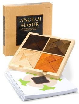 Tangram Master: The Ultimate Puzzle Challenge for up to 4 Players