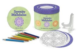 Serenity with Mandalas: Color & Meditate Your Way to Inner Peace (Hat Box Series)