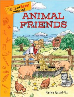 Hide-and-Seek Puzzles: Animal Friends