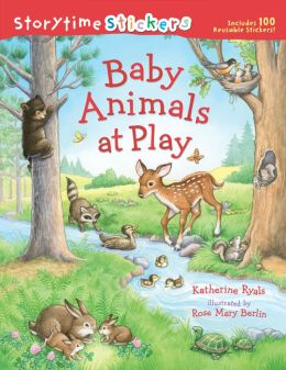 Storytime Stickers: Baby Animals at Play