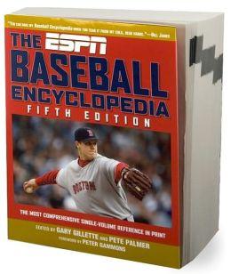 The ESPN Baseball Encyclopedia, Fifth Edition