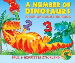 A Number of Dinosaurs: A Pop-Up Counting Book