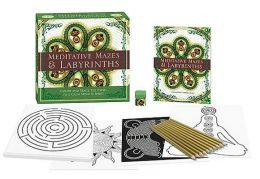 Meditative Mazes & Labyrinths: Color and Trace the Paths to a Calm Mind & Spirit