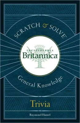 Scratch & Solve Encyclopaedia Britannica General KnowledgeTrivia