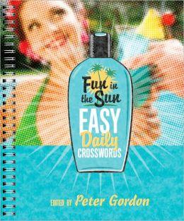 Fun in the Sun Easy Daily Crosswords