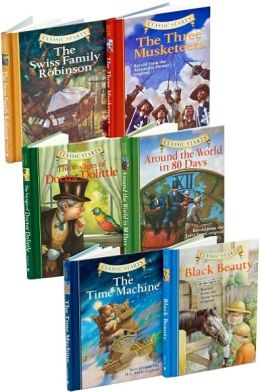 Adventure Books Set (Classic Starts Series)