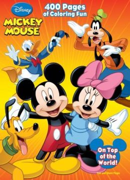 disney mickey mouse and all his friends 400 pages of