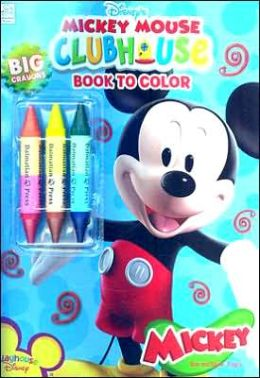 Mickey Mouse Clubhouse Book to Color