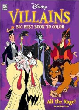 Disney Villains: All the Rage!