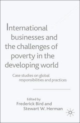 International Businesses And The Challenges Of Poverty In The Developing World