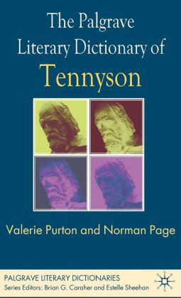 The Palgrave Literary Dictionary of Tennyson