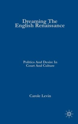Dreaming the English Renaissance