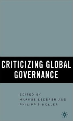Criticizing Global Governance