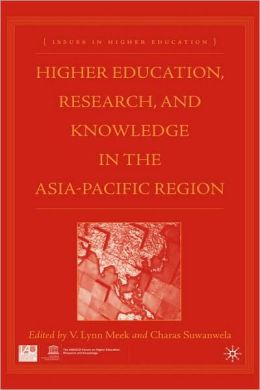Higher Education, Research, And Knowledge In The Asia Pacific Region