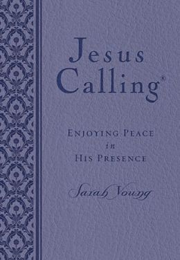 Jesus Calling: Enjoying Peace in His Presence (B&N Exclusive Edition) (Purple)