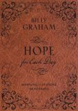 Book Cover Image. Title: Hope for Each Day Morning and Evening Devotions, Author: Billy Graham
