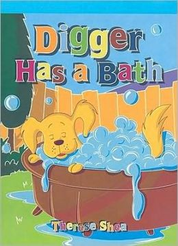 Digger Has a Bath