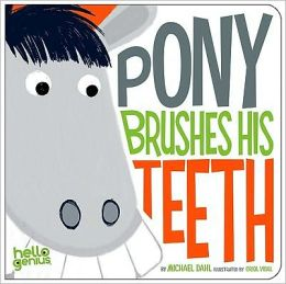 Pony Brushes His Teeth