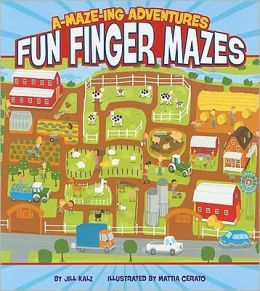 A-Maze-Ing Adventures: Fun Finger Mazes