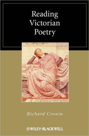Reading Victorian Poetry