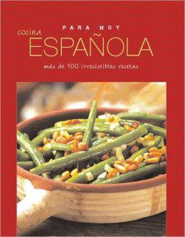Para hoy Cocina española