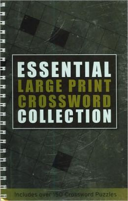 Essential Large Print Crossword Collection